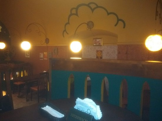 Indus Tandoor : View from our table