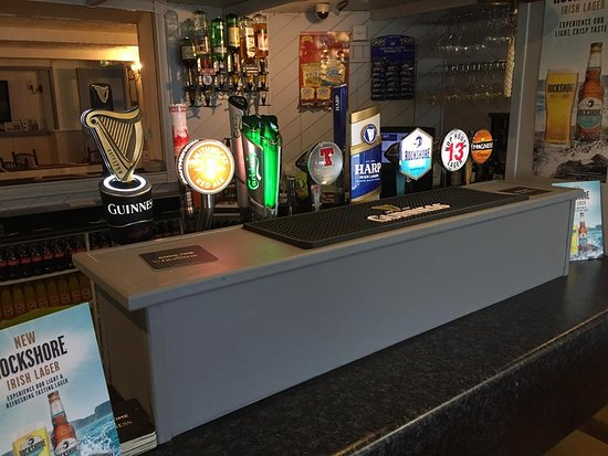 Berthas Bar : Our range of draughts on offer