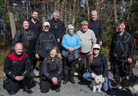 Pacific Pro Dive and Marine Adventures: Club dive and BBQ with Pacific Pro Dive at Nanoose Bay.