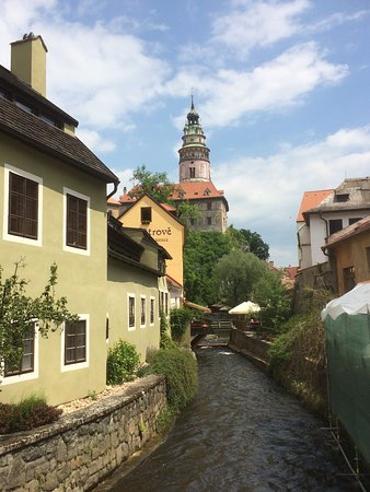 """When we are old...Old and gray..."" Why not old and colourful as Cesky Krumlov?!"