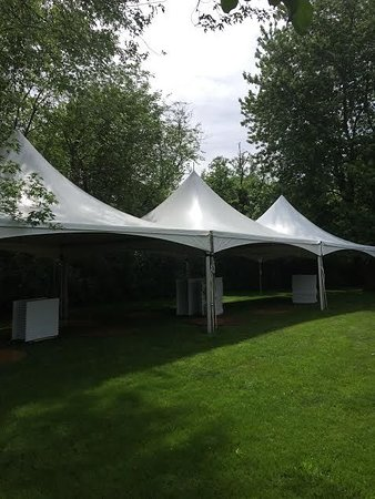Tinley Park, IL : Need some shade for your party? Trying to stay out of the summers heat? Check us out! Rent one of our tents and stay dry& cool at your next get together!