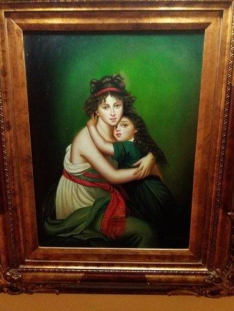 peinture on the hall of west end nice.