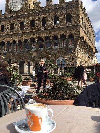 Dalla Terrazza Picture Of Caffetteria Bartolini Florence