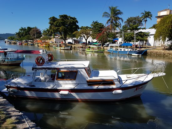 Paraty, RJ : The boat view