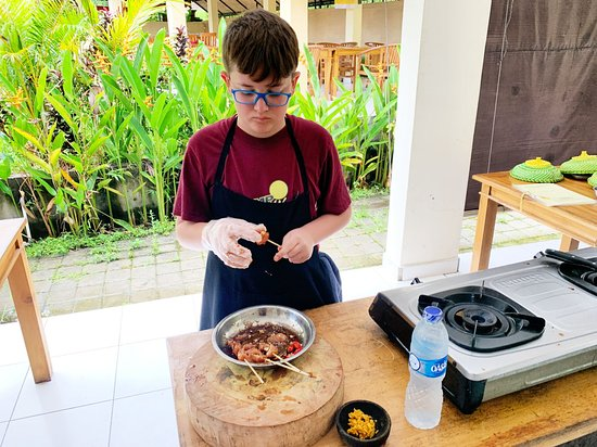 Ketut's Bali Cooking Class: Our 11-year-old had a blast.
