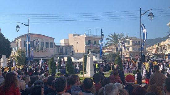 Calamata, Grecia: Πλατεία 23ης Μαρτίου