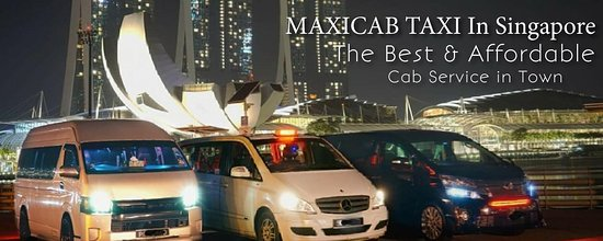Maxicab Taxi in Singapore