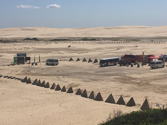 Believe it or not, these dunes are part of our North Coast Ride. Apart from riding motorcycles you can also ride camels there too. It is a 10 hours adventure through the North Coast. There is loads to see, loads to do.  To find out more about this motorcycle tour please visit our website.