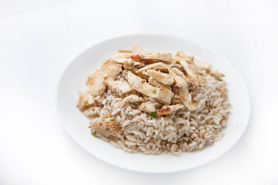 Kids Bowl: Your choice of marinated chicken or beef. Served only with a choice of fries or rice.