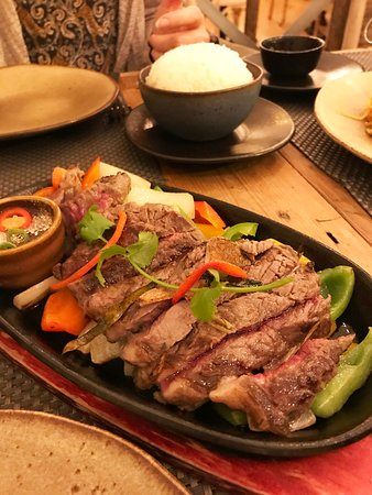 crying beef at the giggling squid basically thai fajitas on rice yum picture of giggling squid bath tripadvisor crying beef at the giggling squid