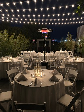 Beautiful plaza space for private events