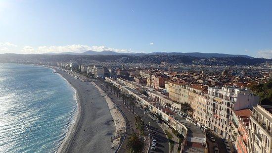 Nice, Francúzsko: The View Looking West.