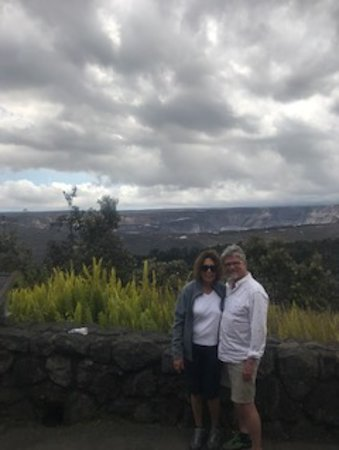 Big Island in a Day: Volcanoes, Waterfalls, Sightseeing, History: The Volcano Park was a treasured stop, the 1,000+ foot drop inside the volcano, just a few months ago was amazingly awesome!