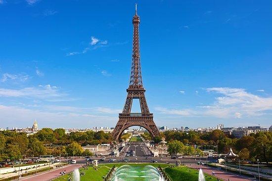 塞纳河游船和埃菲尔铁塔午餐巴黎城市之旅
