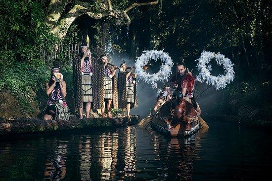 Rotorua Maori Hangi晚餐和表演