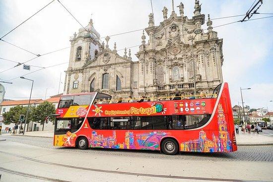 Hop-on hop-off stadstour door Porto