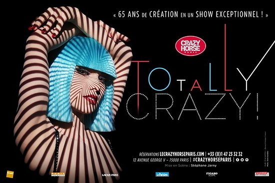 Crazy Horse Cabaret New Show in Paris