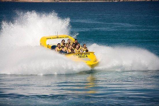 Expérience Jet Boat 360 à Ibiza