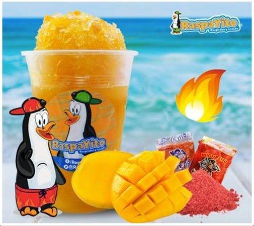 Nuestros sabores de fruta natural, prueba nuestro Raspayito de Mango, uno de los más esperados por nuestros Raspayitofans.