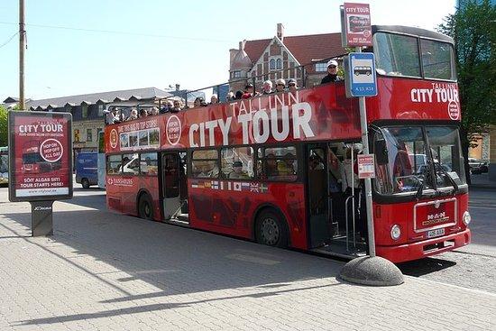 Autobuses rojos Tallinn Hop-on...