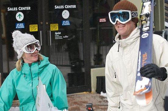 Paquete básico de alquiler de esquís...