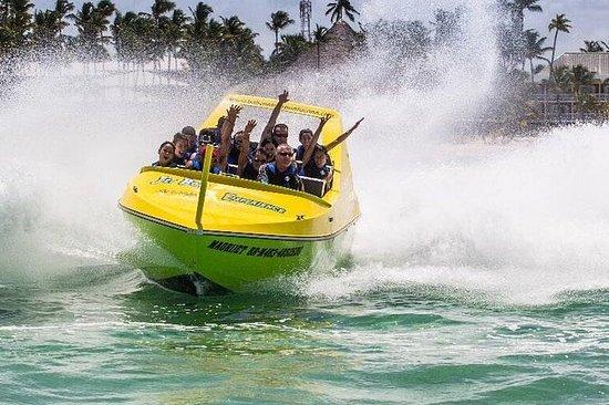 Kleinboot-Jetboot-Erlebnis in Punta...