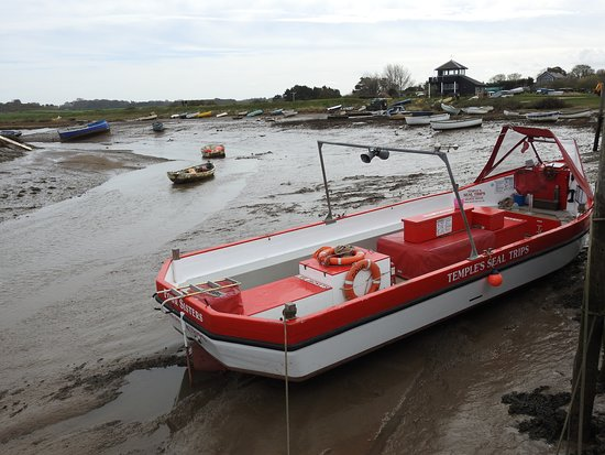 The boat used at Morston Quay