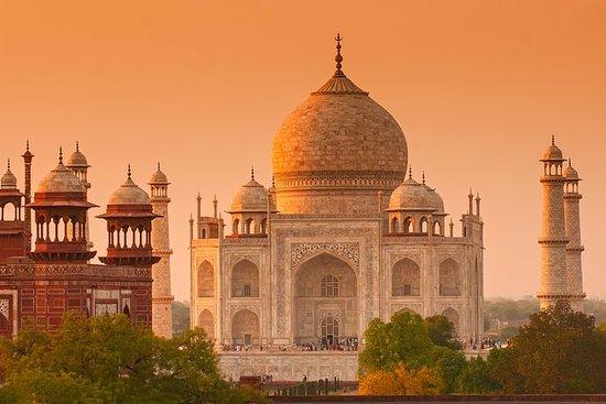 Taj Mahal & Agra Fort: Private...