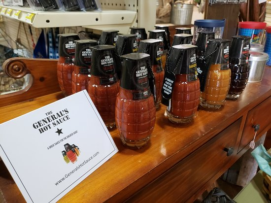 Cherryvale, KS: General's Hot Sauce & syrup now available.  Made by a veteran owned small business  #NewtonsInc #NewtonsGift #GeneralsHotSauce #WeSupportVeterans #SmallBusiness