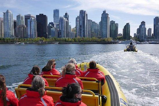 Paseo marítimo por el mar Vancouver