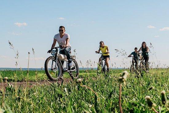 Alquiler de bicicleta híbrida en Ile...