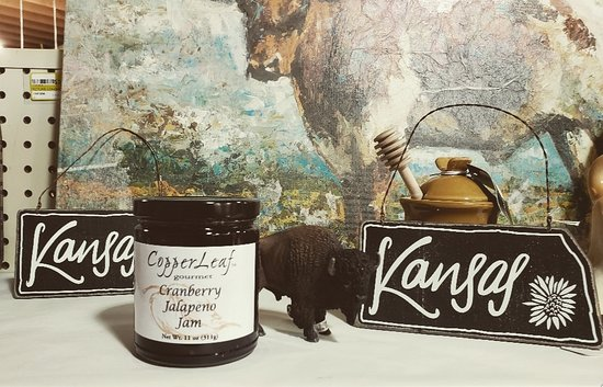Stop in and grab yourself a jar of Kansas made Jam!  #Kansas #Cherryvale #NewtonsInc #NewtonsGift