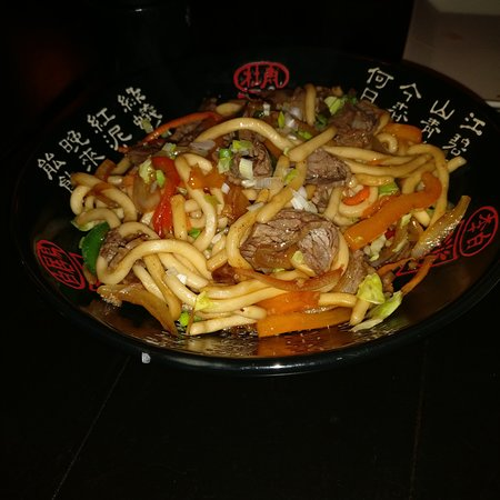 homemade fried noodles