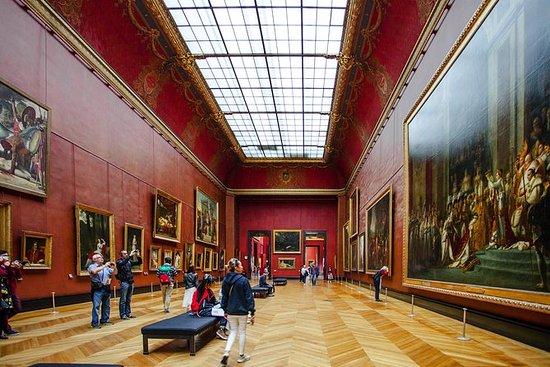 免排队音频引导卢浮宫和随上随下的大巴士观光旅游