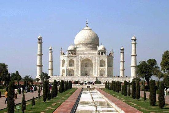 Taj Mahal tur med tog