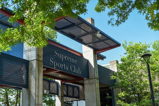 ‪‪Columbia‬, ‪Maryland‬: Exterior of Supreme Sports Club‬