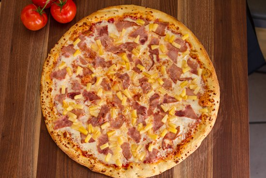 Classic Ham & Pineapple or Hawaiian Pizza that's great all year long.