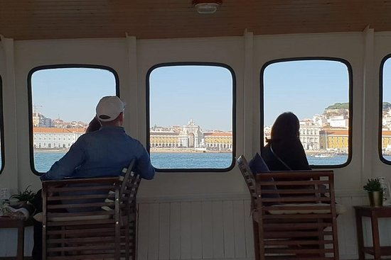 """Sunset Winter Cruise on """"Barco Evora"""": Lisbon Cruise on a historical and charming ship"""