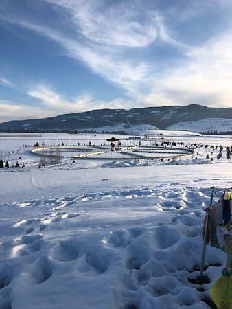 Arlee, Montana: View fro the hill 