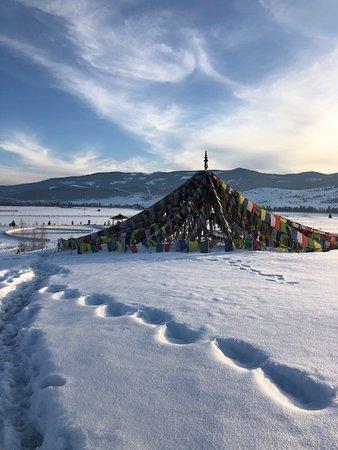 Arlee, Montana: The relaxation pavilion 