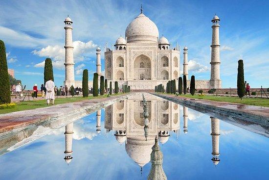 私人阿格拉泰姬陵和德里铁路阿格拉堡一日游