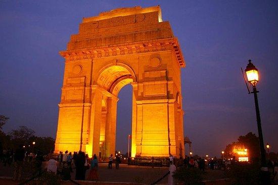 Nattvisning av Delhi Tour - 4 timmar