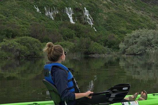 Half-Day, Single-Seat Kayak - Snake River - Blue Heart Springs: Kayak, Single Seat HALF DAY (4 hrs) 1pm pu - Snake River - Blue Heart Springs