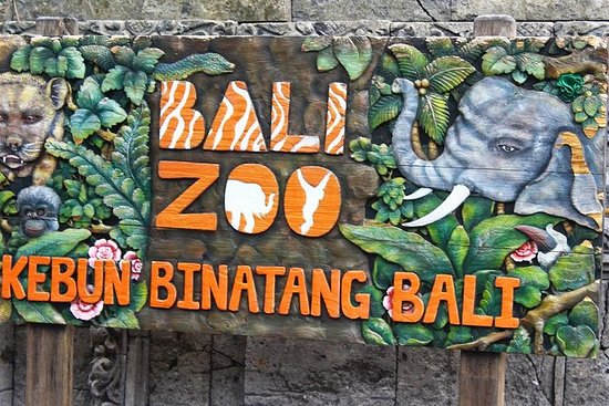 Bali Zoo Admission Ticket med Privat...