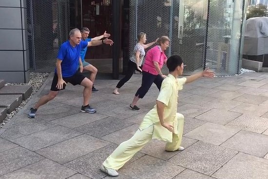 Chinese Taiji Class-Chinese Taiji Experience: Chinese Taiji practice:Chinese Taiji Experience