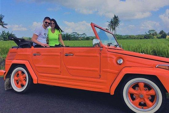 巴厘岛乌布秋千和瀑布之旅与大众敞篷车