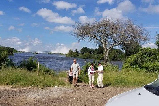 Visite guidée des chutes-Zambie