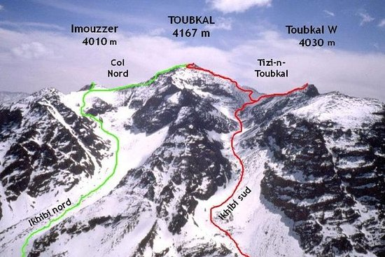 Imlil Toubkal Hiking From Marrakech 2 days: Trekking in Morocco - 2-Day Atlas Mountains to Climb Toubkal From Marrakech