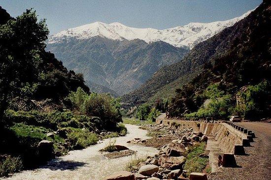 Ourika Valley, un día con almuerzo, pausa para el té (transporte privado).: Ourika Valley, homestay tea, mountain guide and lunch included.