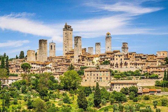 來自羅馬的San Gimignano&Monteriggioni...